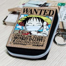 Coin Pouch Luffy Wanted