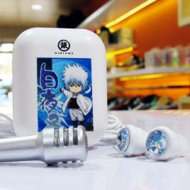 Earphone Mic With Case Gintama