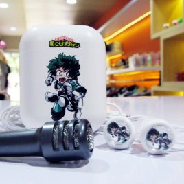 Earphone Mic With Case My Hero Academia
