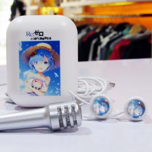 Earphone Mic With Case Rem