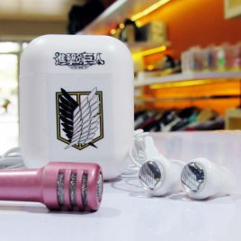 Earphone Mic With Case Scouting Legion