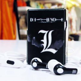 Earphone Storage Box Death Note