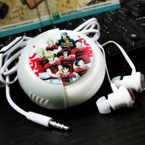 Earphone With Case All Out