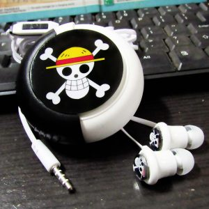 Earphone With Case One Piece