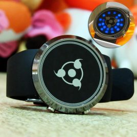 Jam Tangan Light Circle Sharingan