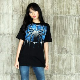 Kaos Black Spiderman