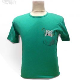 Kaos Pocket Bulbasaur
